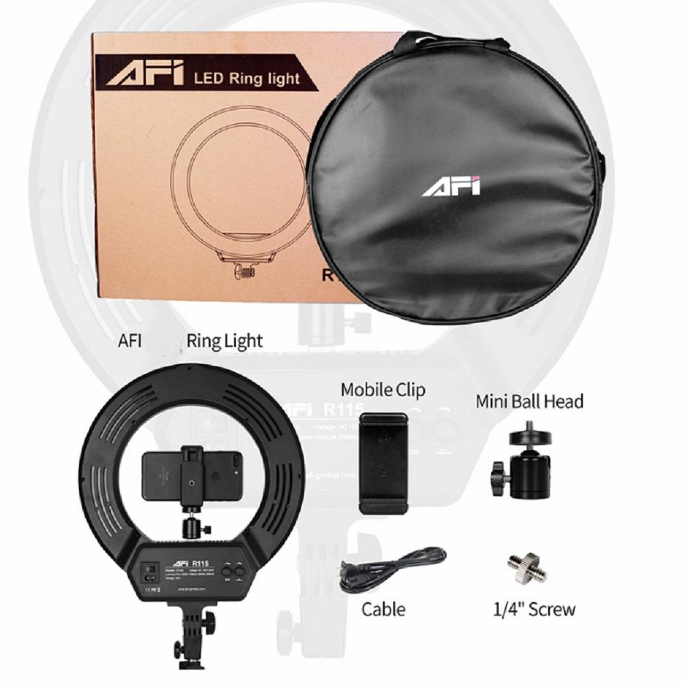 Afi 14'' Ring Light with Tripod for Mobile