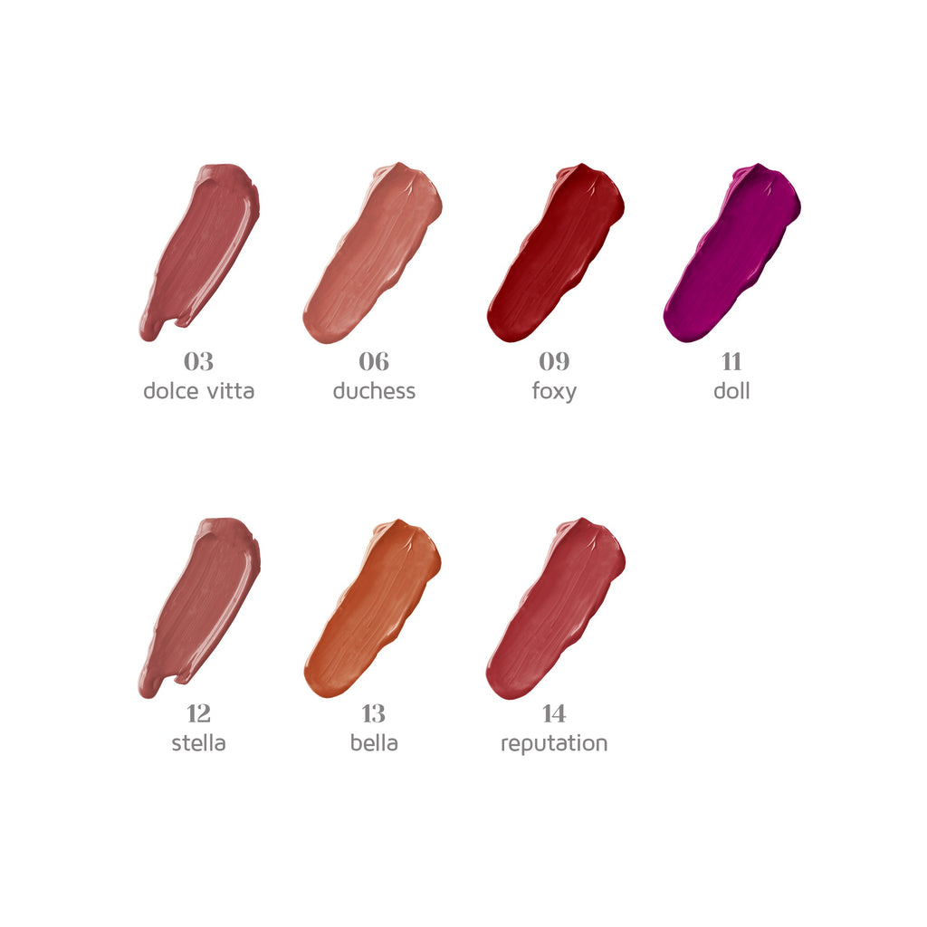 Dali Cosmetics Double Lip Gloss Waterproof Matte