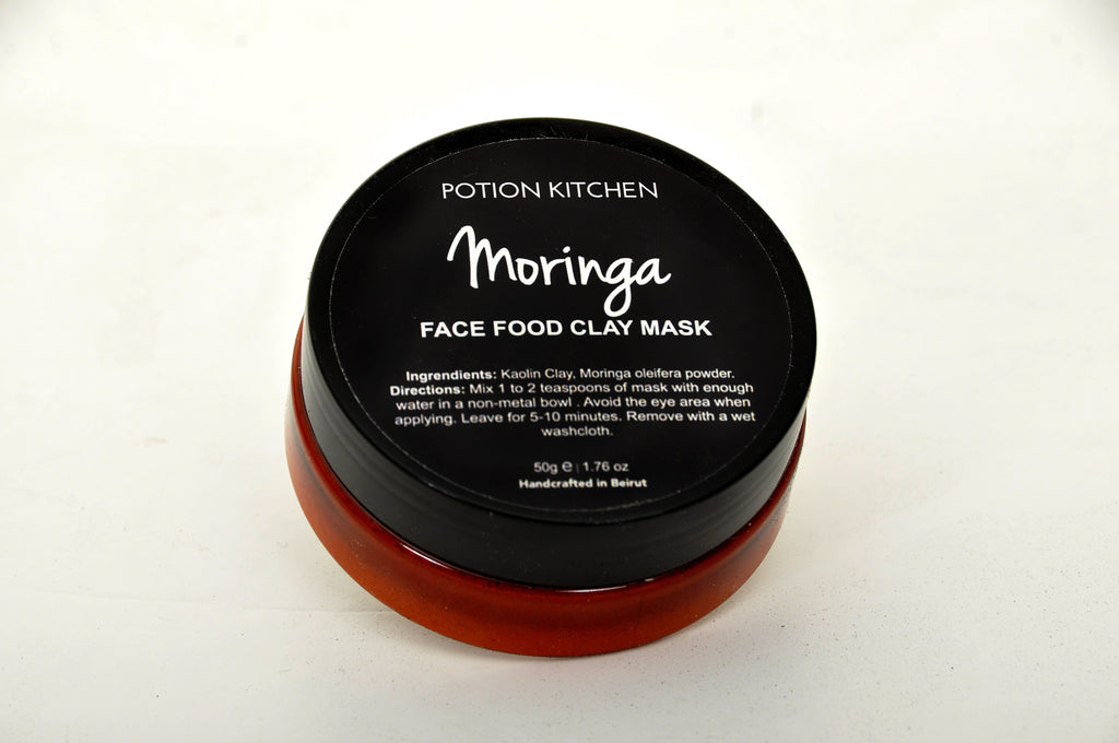 Singles' Day FREE Potion Kitchen Moringa Face Food Clay Mask