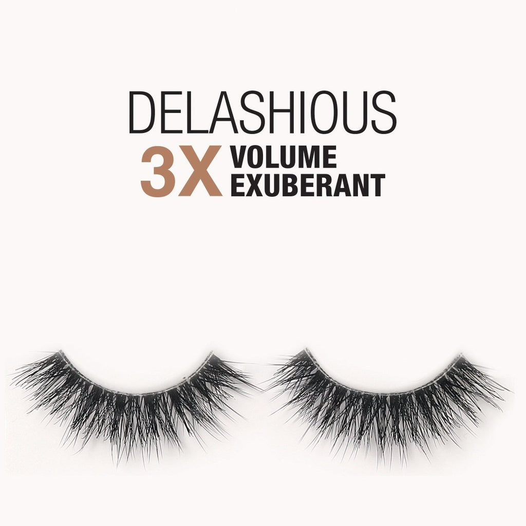 Samoa Delashious 3X Volume-Exuberant False Eyelashes