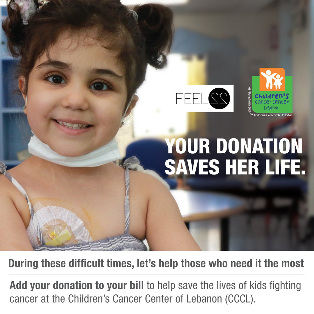 Children Cancer Center of Lebanon x Feel22 - Donation Voucher