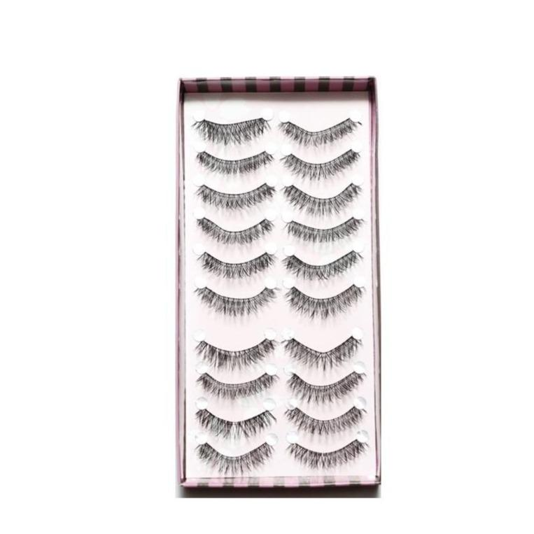 Perla Glam Silk Natural Lashes -10 Pairs