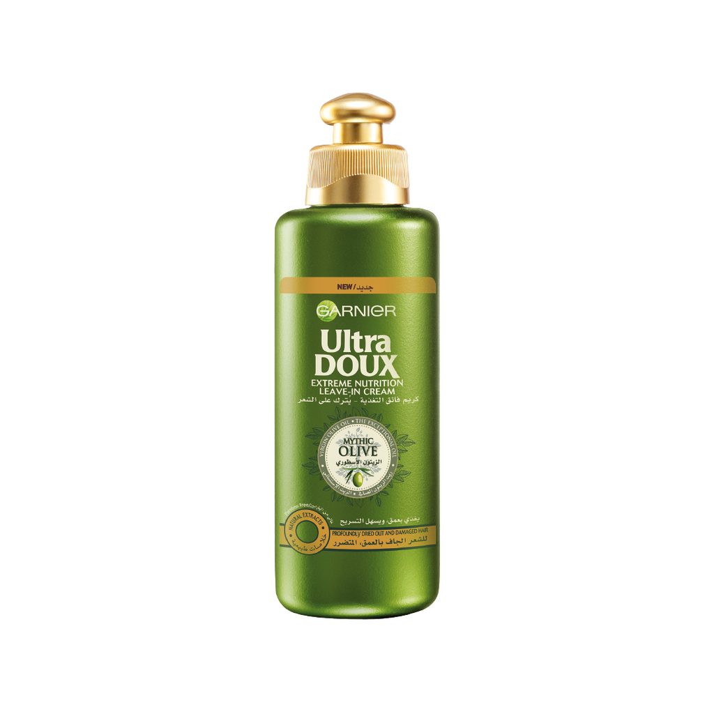 Garnier Ultra Doux Mythic Olive Extreme Nourishing Leave In Hair Cream