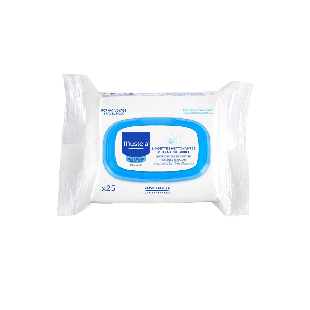 Mustela Normal Skin Facial Cleansing Wipes