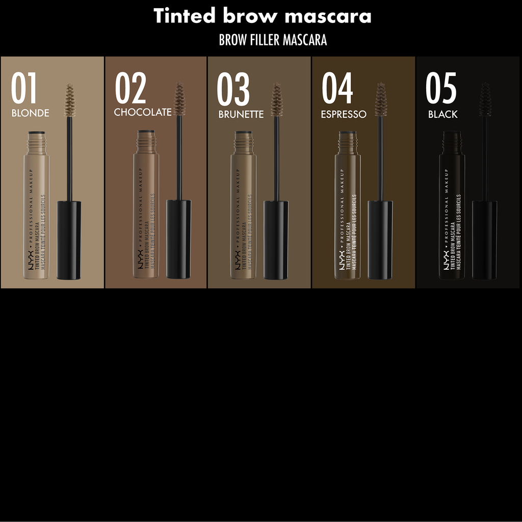 NYX Professional Makeup Tinted Brow Mascara