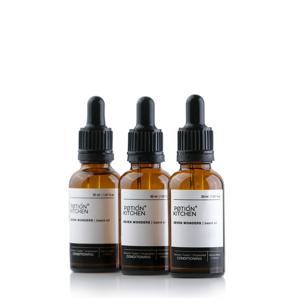 Potion Kitchen Seven Wonders Beard Oil