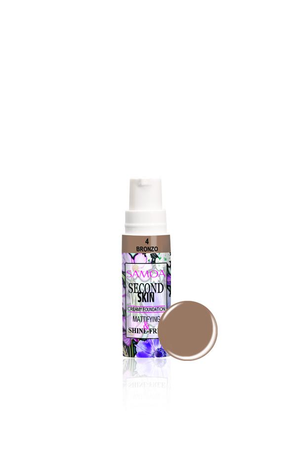 Samoa Second Skin Creamy Foundation - 50% Off