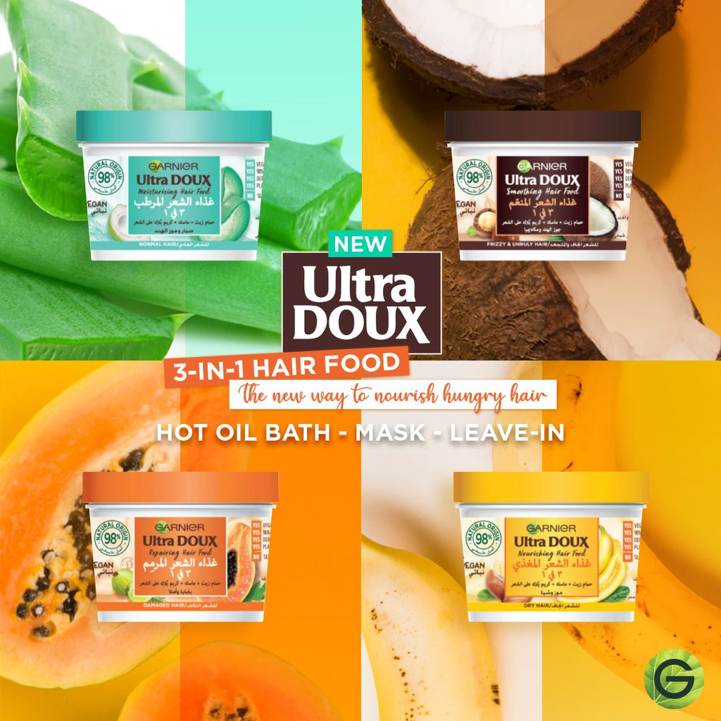 Garnier Ultra Doux Hair Food Aloe Vera & Coconut - Normal Hair
