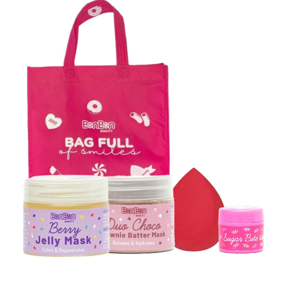 BonBon Beauty Bundle: Tote Bag+ 4 Products 20% Off!