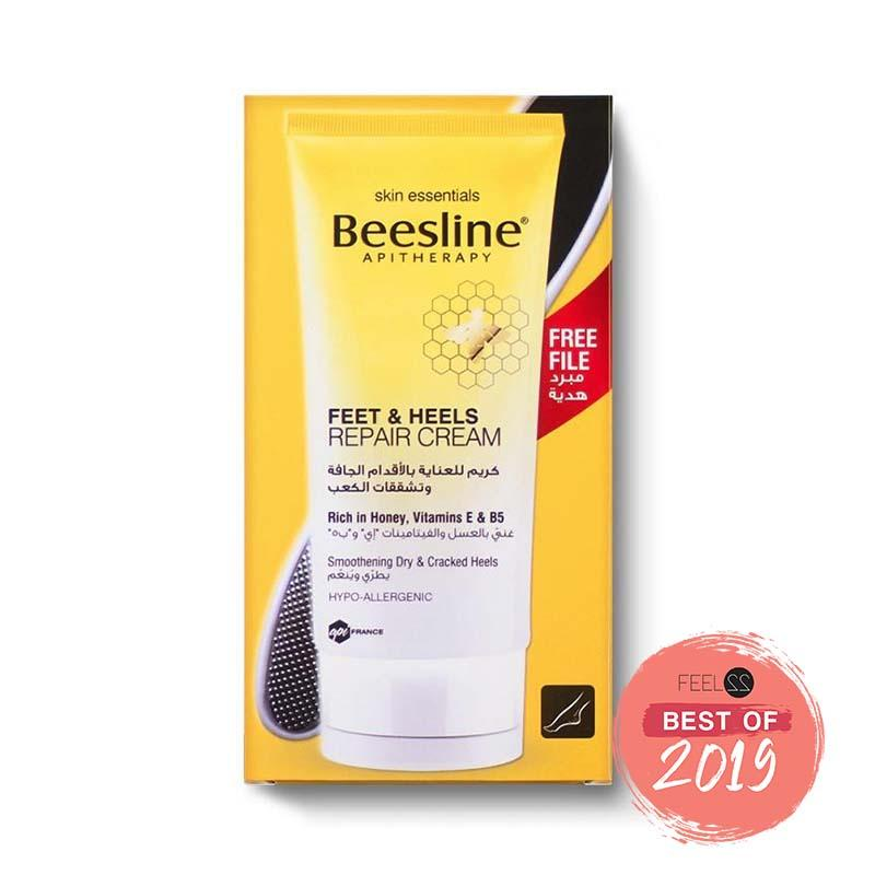 Beesline Feet & Heels Repair Cream + FREE Nail File