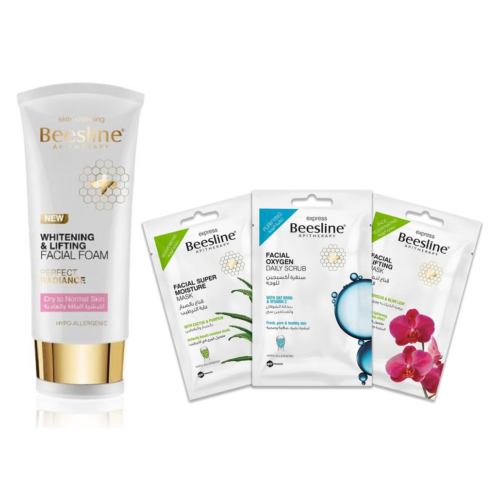 Beesline Dry & Dull Skin Care Routine - Essentials Bundle