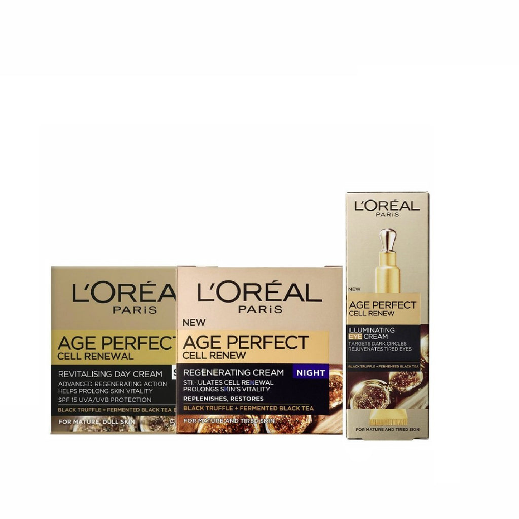 L'Oreal Paris Skin Care Ritual Gift Box - Buy 2 Get 1 Free
