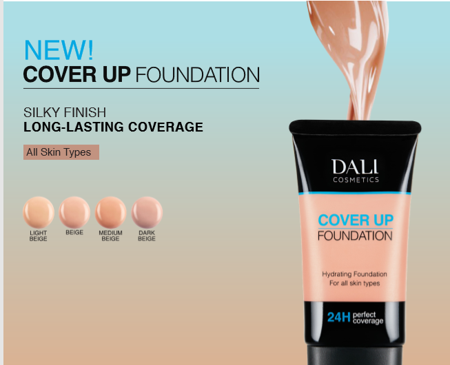 Dali Cosmetics Cover Up Foundation