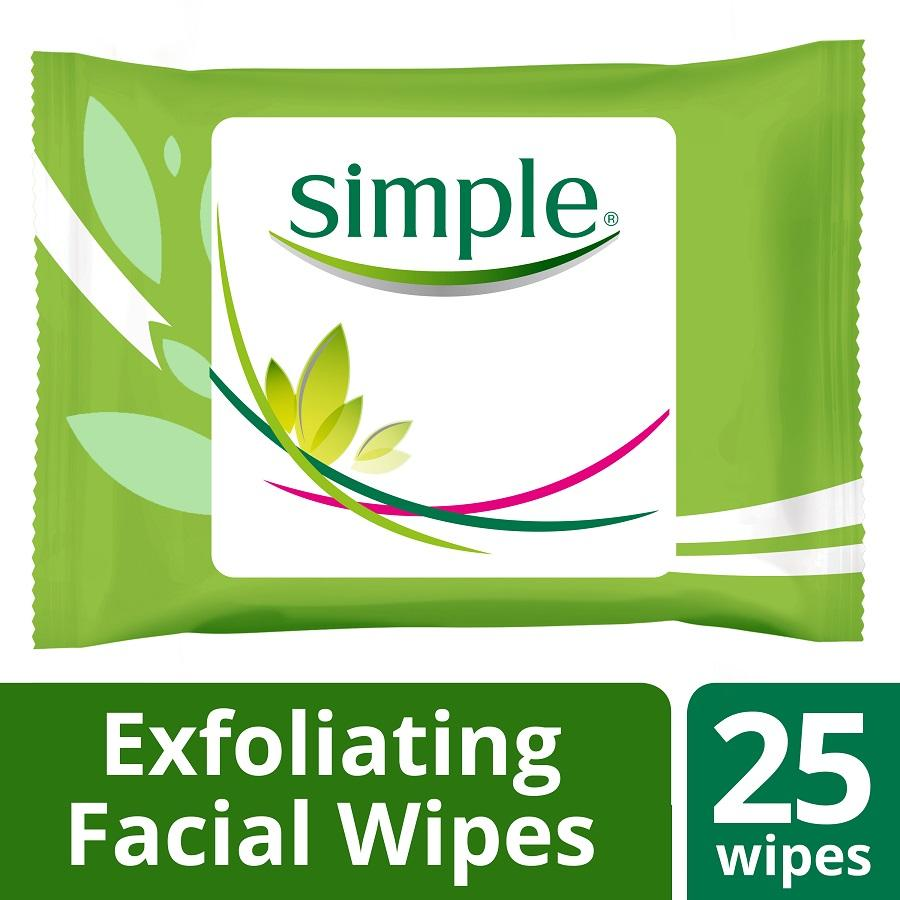 Simple Spotless Skin Quick Fix Cleansing Facial Wipes 25pcs
