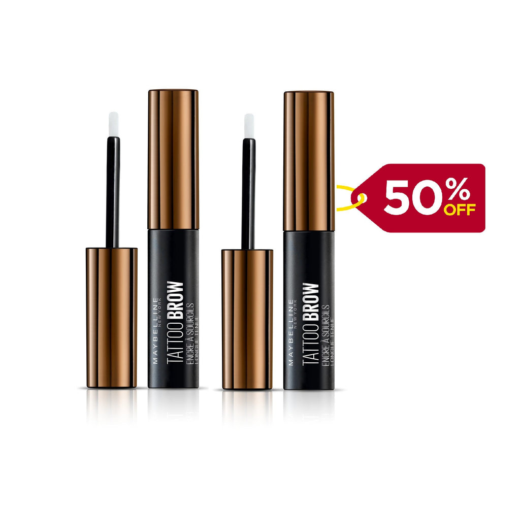 Maybelline Tattoo Brow 3-Day Gel Tint -  Buy One Get Second 50% Off