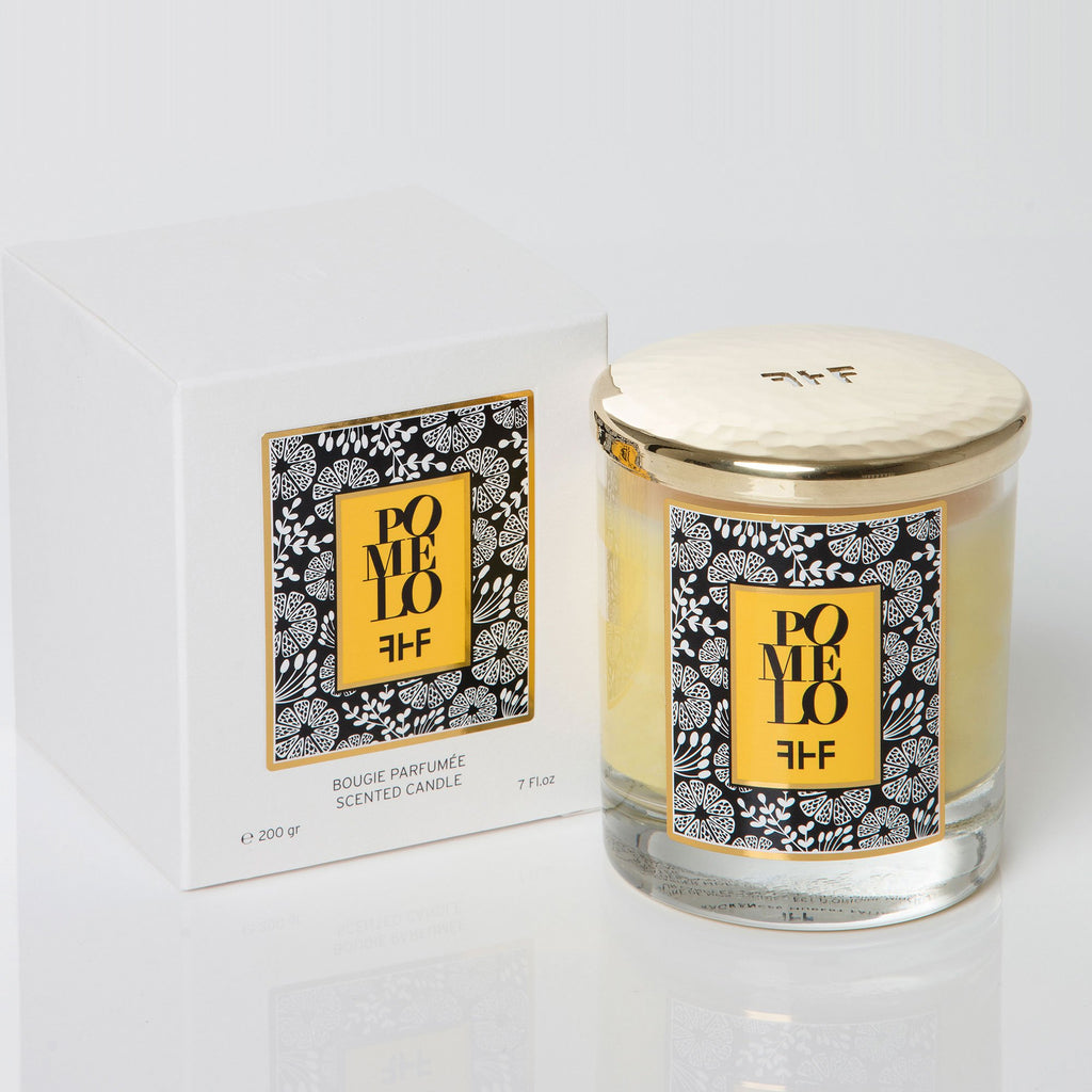 Fragrances Hubert Fattal Bougies Pomelo - Scented Candle
