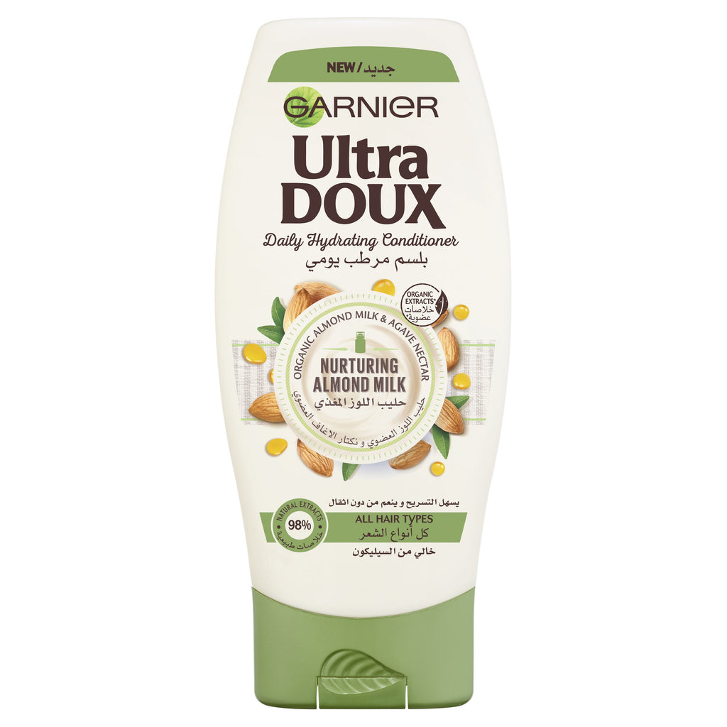 Garnier Ultra Doux Almond Milk and Agave Sap Normal Hair Conditioner