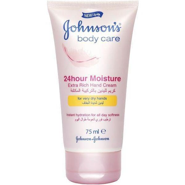 Johnson's 24H Moisture - Extra Rich Hand Cream | feel22 | Lebanon