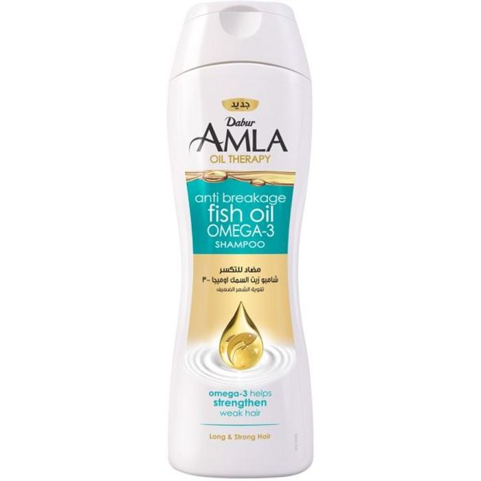 Dabur Amla Vitamin & Fish Oil Shampoo - 400ml