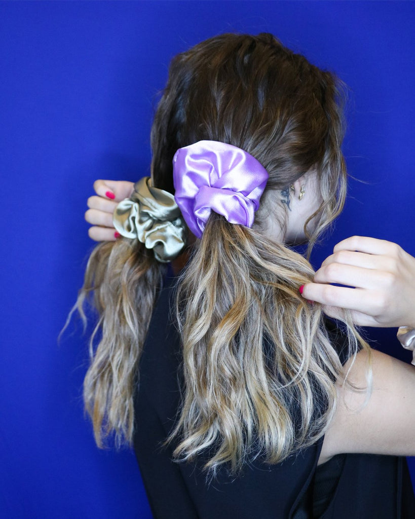 BonBon Beauty Double The Pony Tail Bundle (2 Jumbo ChouChou Scrunchies)