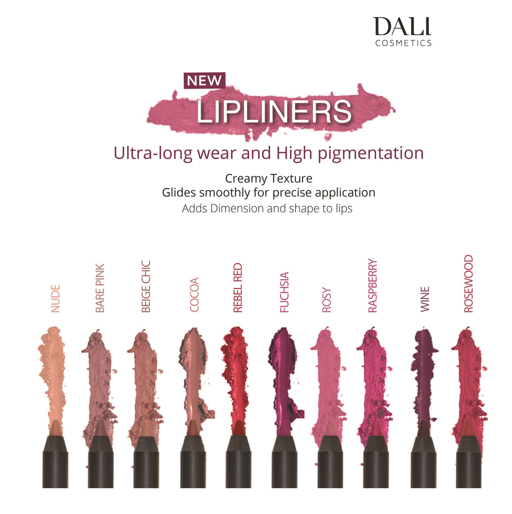 Dali Cosmetics Lip Liner Waterproof - New Packaging