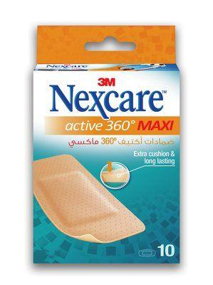 Nexcare Active Bandages - 60x89mm Box of 10