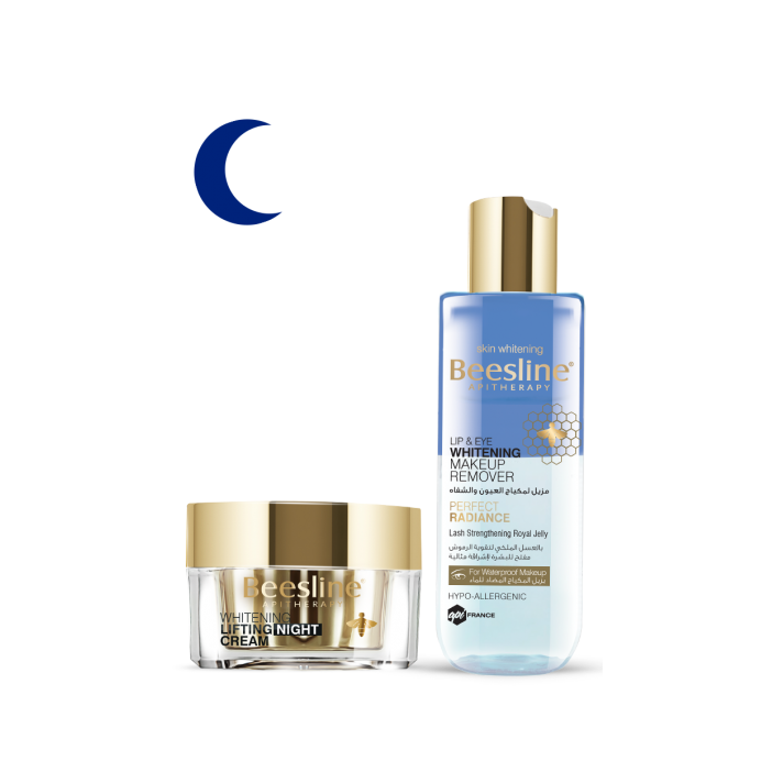 Beesline Whitening Night Facial Routine