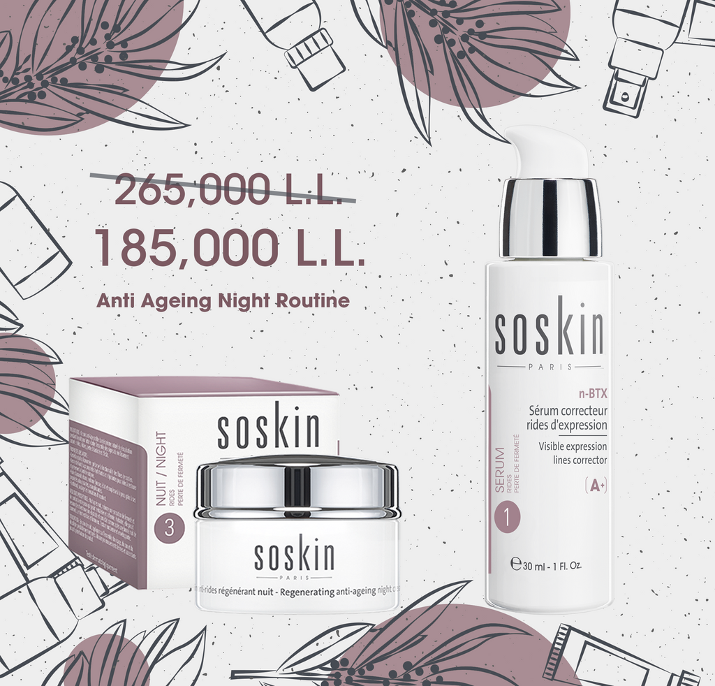 Soskin Anniversary Offer: Anti Aging Night Routine