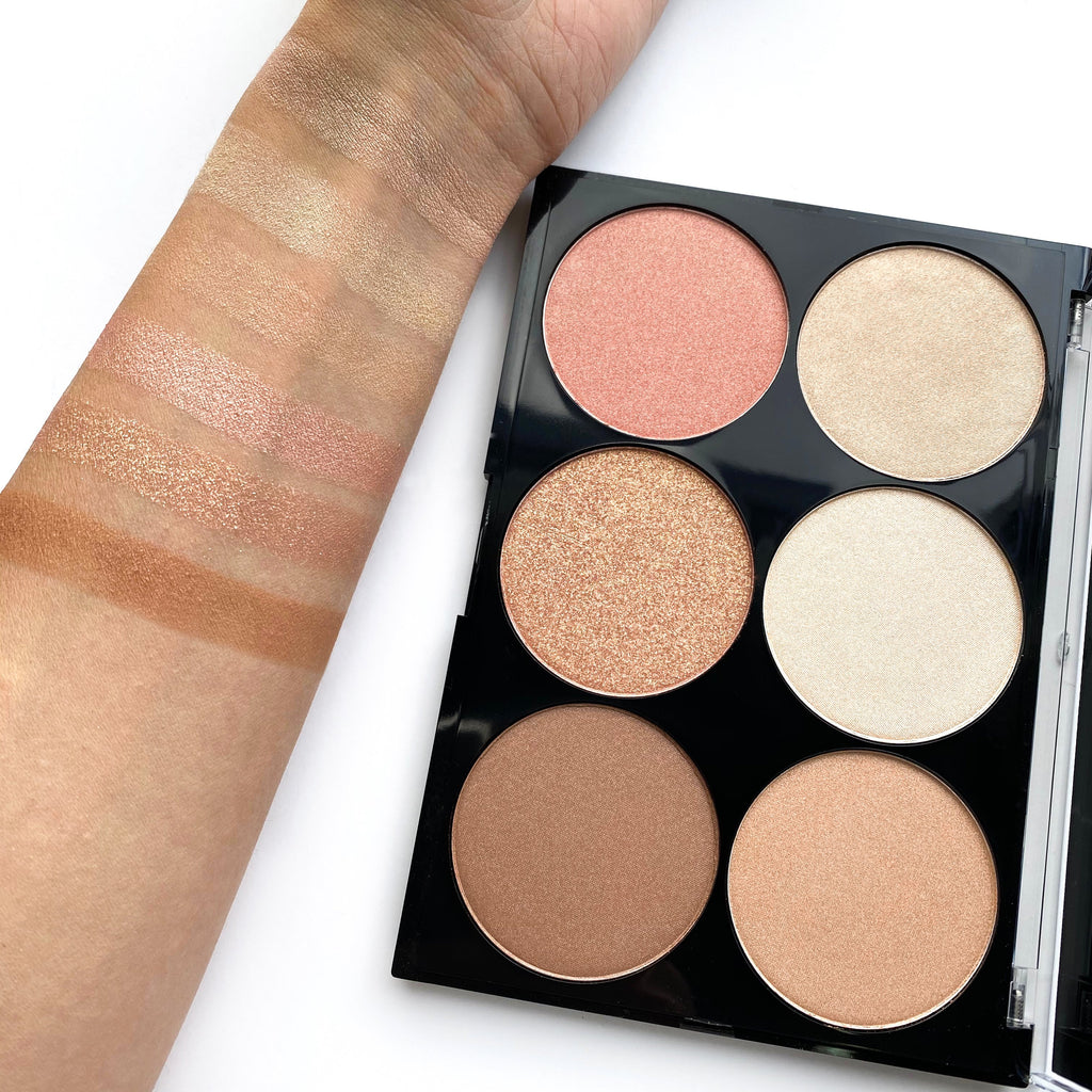 Dali Cosmetics Powder Highlighting & Strobing Palette