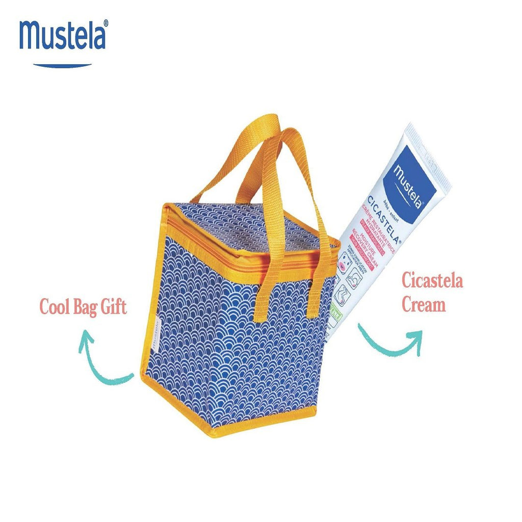 Mustela Cicastela Repairing Cream Offer + Free Cooling Lunch Bag