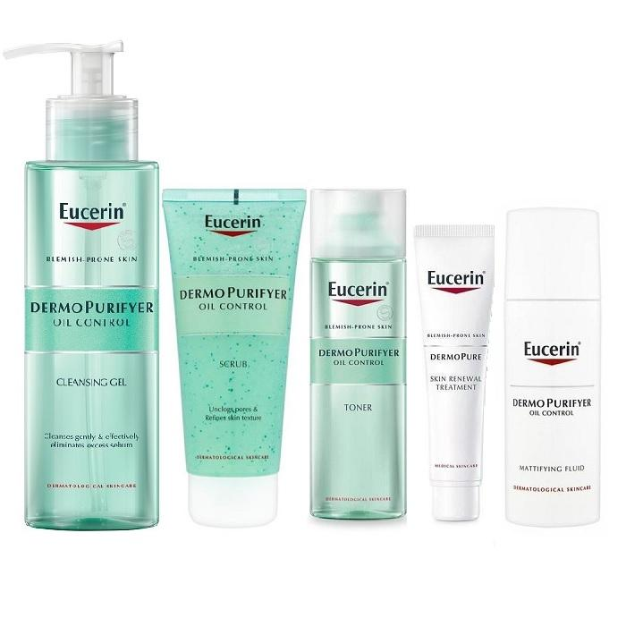 Eucerin DermoPurifyer Acne Fighting Routine - Total System