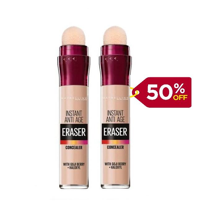 Maybelline Instant Age Rewind Eraser Concealer -  Buy One Get Second 50% Off