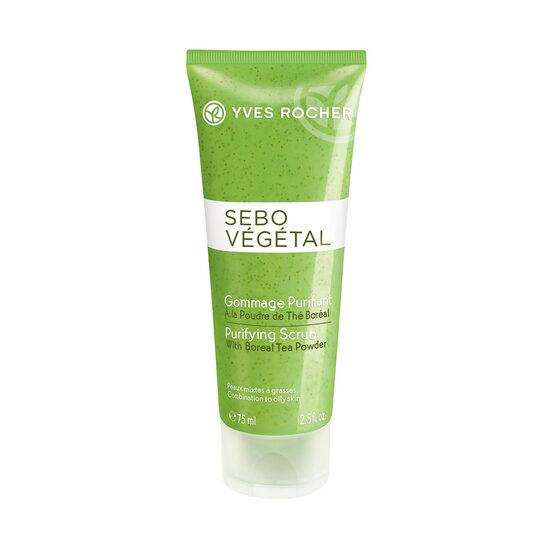 Yves Rocher Sebo Vegetal Purifying Scrub - 75ml