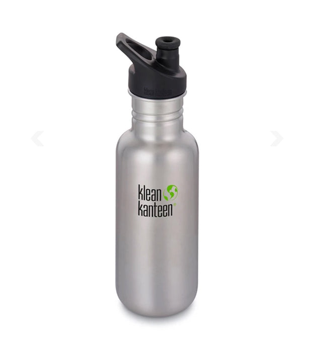 KLEAN KANTEEN 18oz Stainless Steel Bike Bottle - fits most cages