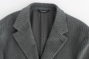 Gray manchester cotton blazer
