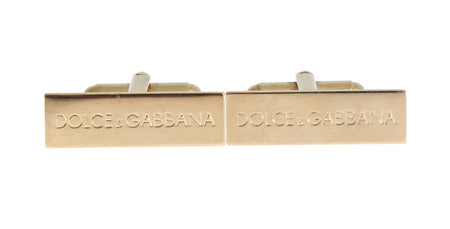 Gold Brass Cufflinks