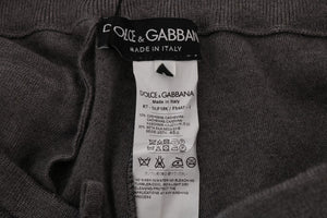 Gray Cashmere Gym Sport Pants