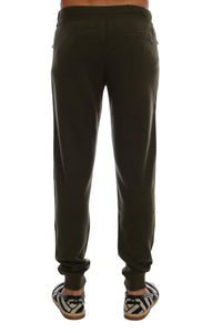 Green Cashmere Gym Training Sport Pants