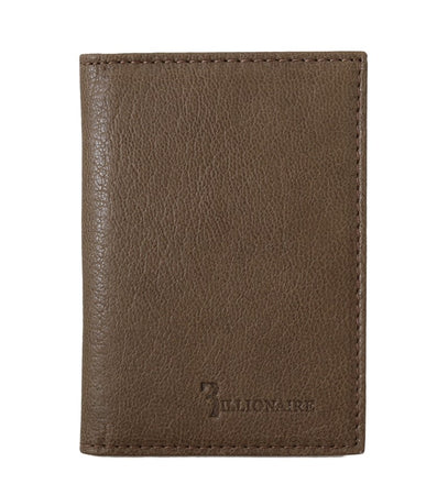 Brown Leather Bifold Wallet