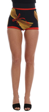 Pasta Sicily Silk Mini Hot Pants Shorts