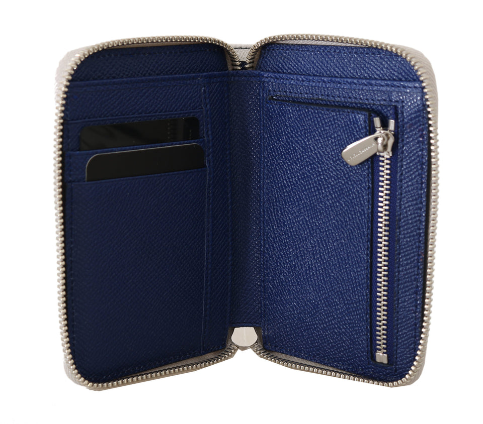 Carretto Leather Dauphine Zip Around Continental Wallet