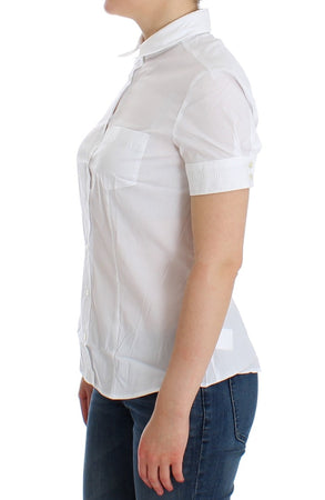 White Cotton Shirt Top
