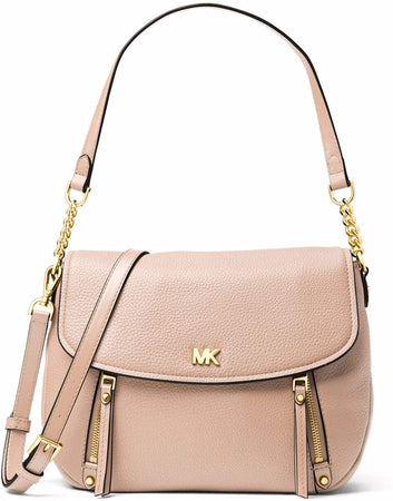 Evie Medium Logo Shoulder Bag