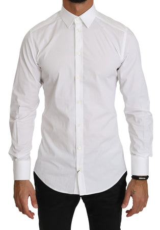 White Slim Fit Dress Formal Shirt