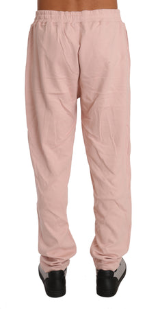 Pink Cotton Sweater Pants  Tracksuit