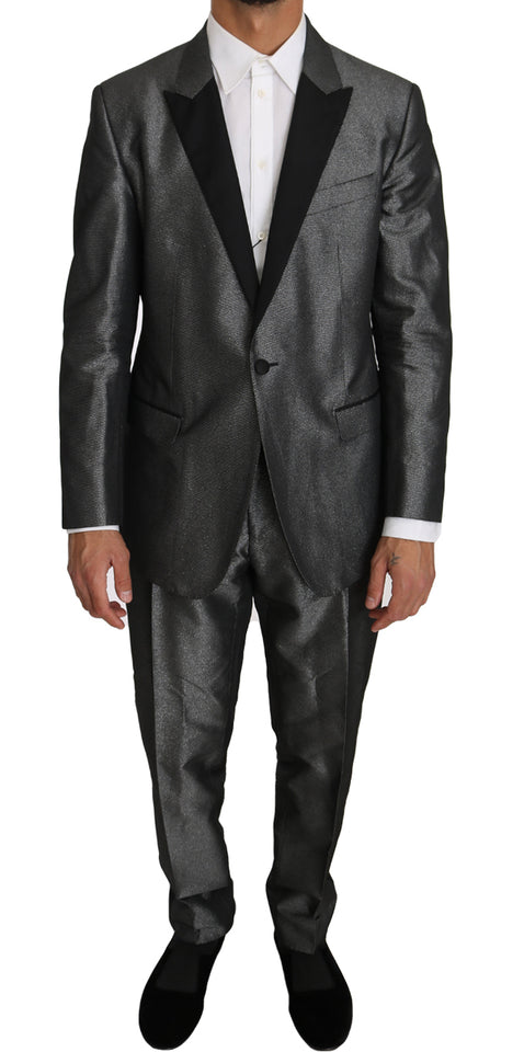Gray Patterned MARTINI 2 Piece Suit