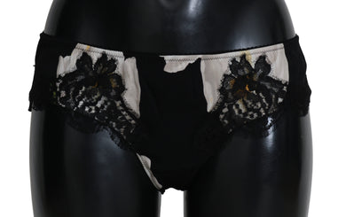Bottom Daisy Floral Silk Stretch Underwear