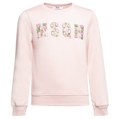 Msgm Sweatshirt Girl
