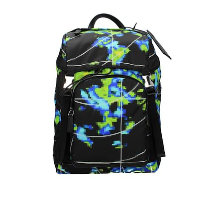 Multicolor Backpack and Bumbag