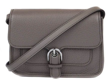 Cooper Leather Adjustable Crossbody Bag